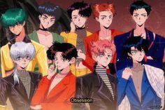 90 Anime, Anime Art, Exo Lockscreen, Exo Fan Art, Z Cam, Kpop Posters, Fandom, Suho Exo, Kpop Fanart