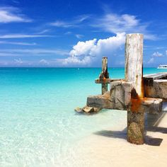 Clear waters at Grace Bay in Turks and Caicos. Photo courtesy of travelingwithjoanne on Instagram.