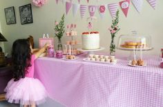 pink princess party!