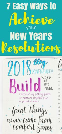 Stop failing at your New Year's Resolutions! Use these ideas and suggestions to make your resolutions stick and find success! Goal Journal, Journal Layout, Planning And Organizing, Planner Organization, New Year Goals, Stress Relief Tips, Time Management Tips, Bullet Journals, Fails
