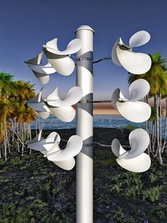 "Finally, A More Exciting Design For Wind Power- a new turbine design called the Windstrument. They're hailing the product as ""a truly affordable wind energy system,"" that's ""quiet and powerful, bird safe, and scalable. Renewable Energy, Solar Energy, Solar Power, Sustainable Energy, Sustainable Design, Sustainable Living, Alternative Energie, Wind Power, Green Building"