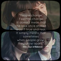500 days of summer quote. Makes me sad.