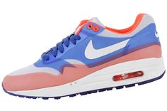 Nike WMNS Air Max 1 Hyperfuse | Blue & Orange