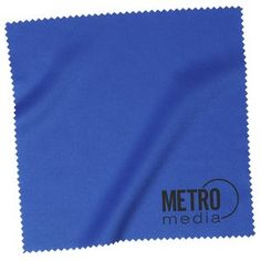 Give your business a clean promotion with this handy cloth!