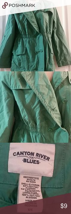Canyon River green utility jacket, size small Canyon River green utility jacket, size small, fully lined Canyon River Jackets & Coats Utility Jackets