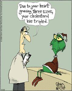 The Flying McCoys by Glenn and Gary McCoy  ~ Christmas Humor ~The Grinch gets Good News/Bad News #Christmashumor