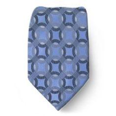 XL-1742 - Blue - Gray - Mens X- Long Silk Necktie