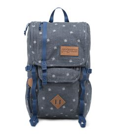 Bringing together outdoor influence with modern functionality, the JanSport Hatchet Special Edition backpack features unique fabrics, a versatile sleeve designed to fit a 15 inch laptop or 3L hydration system, deluxe organizer panel, tablet pocket and water bottle pockets.