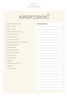 What Do You Need For Your Nursery? - Rock My Family | UK baby, pregnancy and family blog - RMF_NURSERY-ESSENTIALS-2