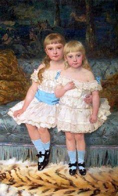Two Sisters Jan Verhas