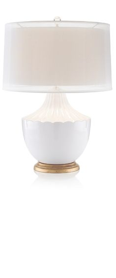 Table Lamps, White Twin Shade Lamp, so beautiful,