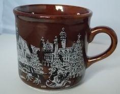 Kathe Wohlfahrt Brown Ceramic Christmas Mug Germany Weihnachts Market .