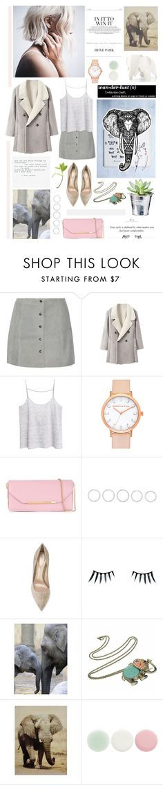 """""""● ELEPHANTS"""" by paty ❤ liked on Polyvore featuring W118 by Walter Baker, MANGO, Salvatore Ferragamo, Luv Aj, Gianvito Rossi, Napoleon Perdis, CO, Nails Inc. and Vitra"""