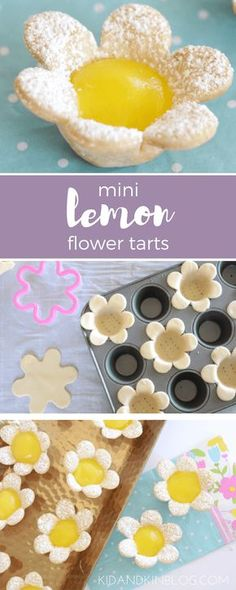 Perfect bite sized desserts for any special occasion. The post Mini Lemon Flower Tarts. Perfect bite sized desserts for any special occasion. appeared first on Win Dessert. Desserts Ostern, Köstliche Desserts, Delicious Desserts, Spring Desserts, Spring Treats, Creative Desserts, Paleo Dessert, Delicious Chocolate, Plated Desserts