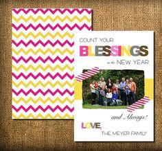 Happy New Years Card or Postcard 2012 DIY par MeyerMarketDesigns