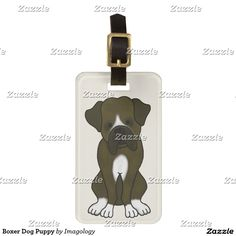 Travel in style with Dog luggage tags from Zazzle! Make your tags today! Boxer Dog Puppy, Luggage Bags, Travel Style, Dogs And Puppies, Tags, Boxer Pup, Mailing Labels