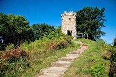 Top 10 things to do for active travelers in Dubuque, Iowa, including hiking and biking in the Mines of Spain Recreation Area