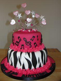 girl b/day cake