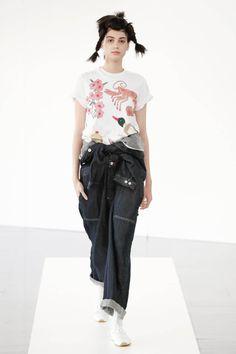 Dover Street Market London, Waist Skirt, High Waisted Skirt, Japanese Fashion, Parachute Pants, Runway, Chic, Skirts, Collection
