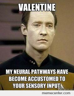 star trek meme - Hahaha what agreat episode. Star Trek Meme, Star Trek Data, Star Trek Q, Geek Out, Nerd Geek, Starship Enterprise, Nerd Love, Love Stars, Favorite Tv Shows