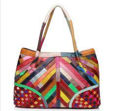 sacs à main de mode sacs à main de sacs pour femmes sac à main cuir véritable sac à main de couleur de couture
