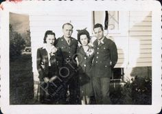 Army wives Vintage Snapshot 1930's 1940's 1950's by PhotoGhost