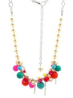 #valentinesday : Multi pearl statement #necklace #madeinuk #BritishDesign