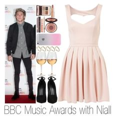 """""""BBC Music Awards with Niall"""" by sassy-queen01 ❤ liked on Polyvore featuring Giuseppe Zanotti, Charlotte Tilbury, ASOS and Marc Blackwell"""