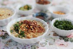 Goto (beef tripe) congee - CASA Veneracion