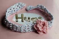 ouble stranded, made the headbands thicker and more practical to say on baby's head.  Sizing: Length will depend on y