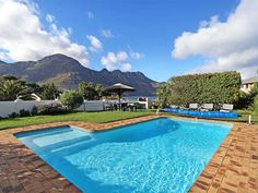 Seaside Views - Seaside Views is a beautiful home in a security complex in Hout Bay. Hout Bay boasts a rural atmosphere surrounded by the beautiful ocean and mountains mountains.The house has three bedrooms, two bathrooms . Beautiful Ocean, Beautiful Homes, V&a Waterfront, Weekend Getaways, Bed And Breakfast, Ideal Home, Seaside, Swimming Pools, Cottage