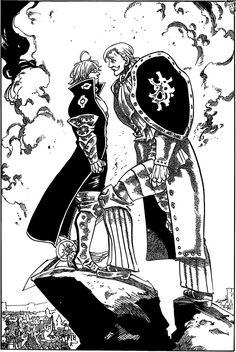 Nanatsu no Taizai manga 184 | Estarossa VS Escanor.
