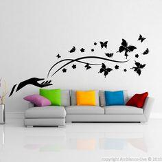 Stickers muraux Animaux - Sticker papillons de la liberté | Ambiance-live.com