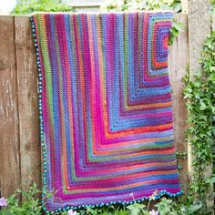 Joy's Journey Blanket By Dedri Uys - Free Crochet Pattern - (ravelry)