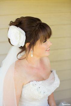 Mali Brae Farm Wedding – Tahnae and James – Southern Highlands Highlands, Veils, Farm Wedding, Hair Pieces, One Shoulder Wedding Dress, Southern, Hairstyles, Bridal, Wedding Dresses