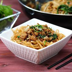 Just because you're in a rush doesn't mean you don't want your meal to be tasty! Lucky for you, these 15 minute lazy noodles are both fast, and flavorful! You can make most of this whole dish in one pot, so you don't even have to worry about cleanup being a huge deal! The only way it could get any b...