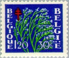 Stamp: Flowers (Belgium) (Flowers) Mi:BE 879,Sn:BE B488,Yt:BE 837,AFA:BE 900,Bel:BE 837