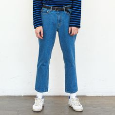 15AW DENIM PANTS ICE BLUE