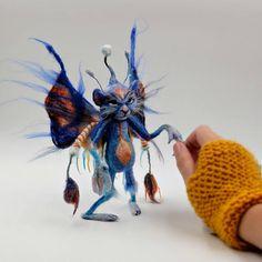 RESERVED: Brian Froud Faery needle felt sculpture