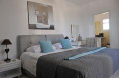 Paros, Stagones Luxury Villas the Master Bedroom
