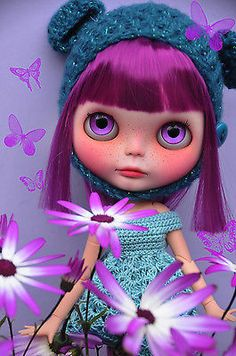 OOAK Custom Blythe Doll -  MAGNOLIA - Customized by Zuzana D.