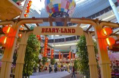 Welcome to Beary Land! Chinese New Year Decorations, New Years Decorations, Fair Grounds, Blog, Blogging