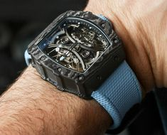 c78a7e4b4e9 Richard Mille RM53-01 Tourbillon Pablo Mac Donough Watch Hands-On Relógios  De Luxo