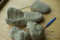 Et par hurtige futter – Mønsterbryder Baby Knitting Patterns, Knitted Hats, Inspiration, Granny Squares, Diy Baby, Blade, Clothes, Fashion, Crochet House