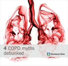 Get the facts about #COPD. #myths
