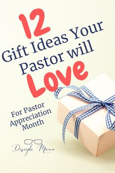 Get ready for Pastor Appreciation Month with these fabulous and meaningful gift ideas! In this post you'll find great, practical and thoughtful gifts for pastors that they will love and actually use! Pastor Anniversary, Anniversary Gifts, Gifts For Pastors, Gifts For Boys, Diy Gifts, Best Gifts, Homemade Gifts, Pastor Appreciation Month, Baby Shower Thank You Gifts