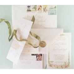 Wedding Suite for Katie & Jared  by Hazel Wonderland