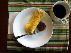 boiled omelets--love these. 2 eggs in a baggy, mix together. Add fixings (cheese, ham, sausage crumbles, veggies, etc), mix together. Squeeze air out of baggy and zip shut. Place up to 8 baggies in large pot of boiling water for 13 minutes. Remove from baggy and enjoy.
