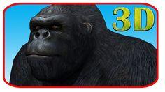Iron Man Vs Gorilla Finger Family 3d Rhymes | 3d Animals Vs Super Heroes