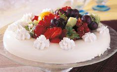 كاسترد الكريما الإيطالية بالفاكهة
